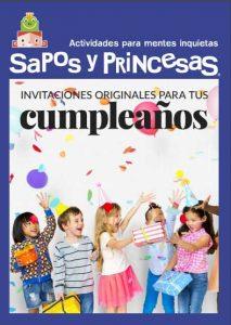 cuadernillo con invitaciones de cumpleaños