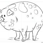 Cómo dibujar un cerdo de dibujos animados